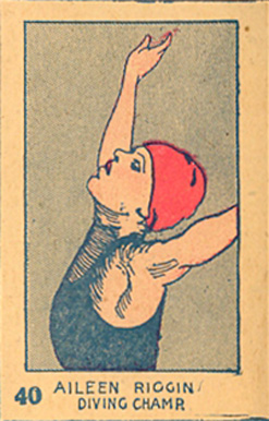 1926 Strip Card Aileen  Riggin #40 Non-Sports Card