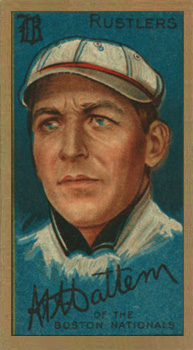 1911 Gold Borders Al Mattern #134 Baseball Card