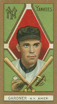 1911 Gold Borders Earl Gardner #76 Baseball Card