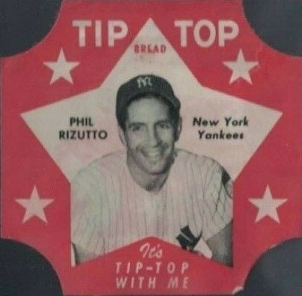 1952 Tip Top Bread Phil Rizzuto #31 Baseball Card