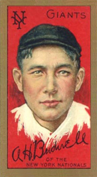 1911 Gold Borders (Broadleaf) Al Bridwell #25 Baseball Card