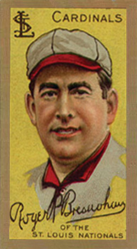 1911 Gold Borders (Broadleaf) Roger Bresnahan #24 Baseball Card