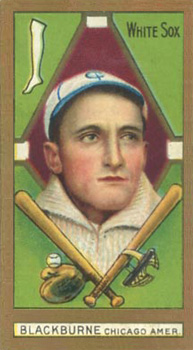 1911 Gold Borders (Broadleaf) Lena Blackburne #21 Baseball Card