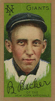 1911 Gold Borders (Broadleaf) Beals Becker #15 Baseball Card