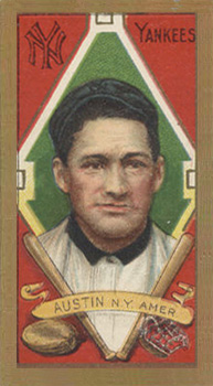1911 Gold Borders (Broadleaf) Jimmy Austin #5 Baseball Card
