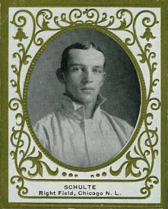 1909 Ramly Wildfire Schulte #106 Baseball Card