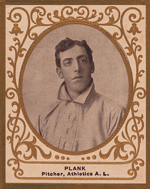 1909 Ramly Eddie Plank #95 Baseball Card