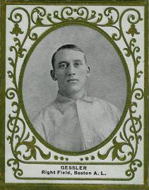 1909 Ramly Doc Gessler #50 Baseball Card