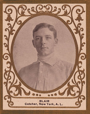 1909 Ramly Walter Blair #12 Baseball Card