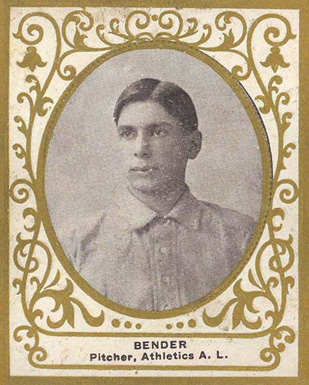 1909 Ramly Chief Bender #11 Baseball Card