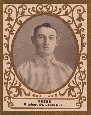 1909 Ramly Fred Beebe #9 Baseball Card