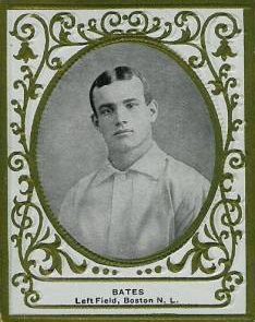 1909 Ramly Johnny Bates #8 Baseball Card