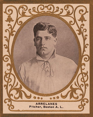 1909 Ramly Frank Arellanes #4 Baseball Card