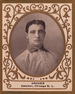 1909 Ramly Jimmy Archer #3 Baseball Card