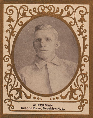 1909 Ramly Whitey Alperman #1 Baseball Card