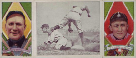 1912 Hassan Triple Folders Ty Cobb #129 Baseball Card