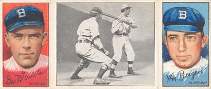 1912 Hassan Triple Folders Bill Bergen #5 Baseball Card