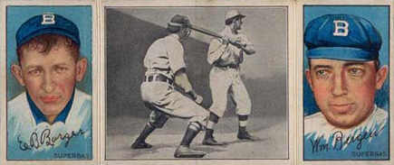 1912 Hassan Triple Folders Bill Bergen #4 Baseball Card