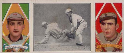1912 Hassan Triple Folders Frank LaPorte #1 Baseball Card