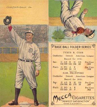 1911 T201 Crawford/Cobb