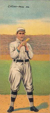 1911 Mecca Double Folders Frank Baker #2 Baseball Card