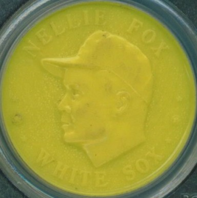 1960 Armour Coins Nellie Fox # Baseball Card