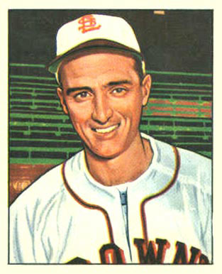 1950 Bowman Dick Starr #191 Baseball Card