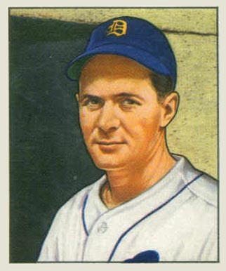 1950 Bowman Neil Berry #241 Baseball Card