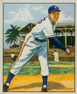 1950 Bowman Dick Fowler #214 Baseball Card