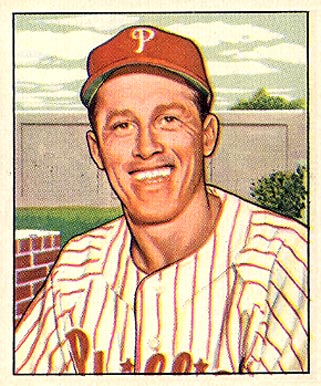 1950 Bowman Mike Goliat #205 Baseball Card