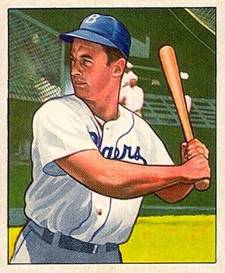 1950 Bowman Gene Hermanski 113 Baseball Vcp Price Guide