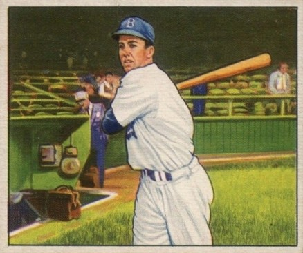 1950 Bowman Duke Snider #77 Baseball Card
