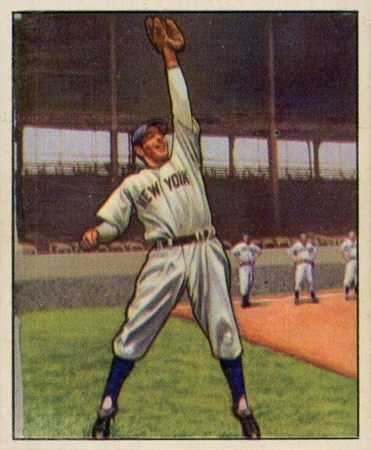 1950 Bowman Phil Rizzuto #11 Baseball Card