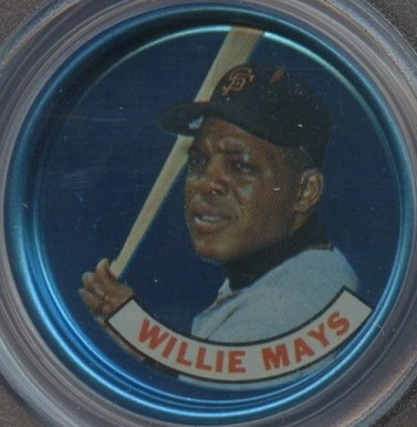 1965 Old London Coins Willie Mays # Baseball Card