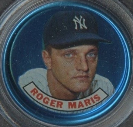 1965 Old London Coins Roger Maris # Baseball Card