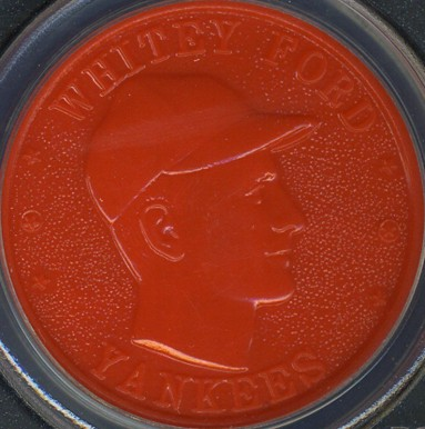 1959 Armour Coins Whitey Ford #8 Baseball Card