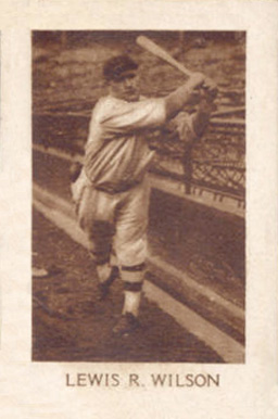 1928 1928 Star Player Candy Hack Wilson #73 Baseball Card