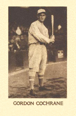 1928 1928 Star Player Candy Mickey Cochrane #10 Baseball Card