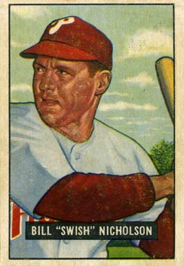 1951 Bowman Bill Nicholson #113 Baseball Card