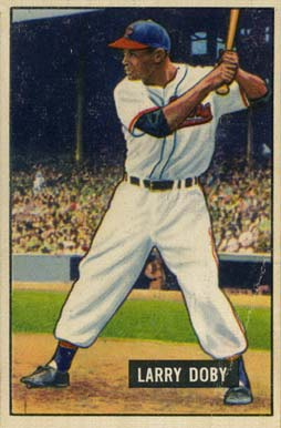 1951 Bowman Larry Doby #151 Baseball Card