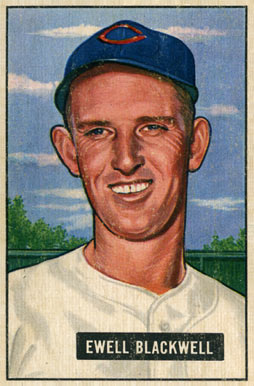 1951 Bowman Ewell Blackwell #24 Baseball Card