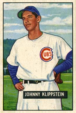 1951 Bowman Johnny Klippstein #248 Baseball Card