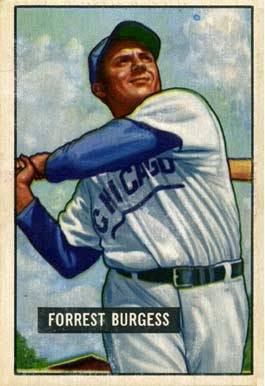 1951 Bowman Smoky Burgess #317 Baseball Card