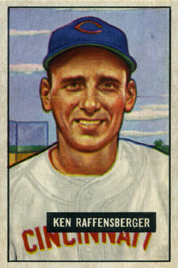 1951 Bowman Ken Raffensberger #48 Baseball Card