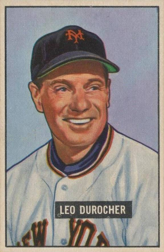 1951 Bowman Leo Durocher #233 Baseball Card