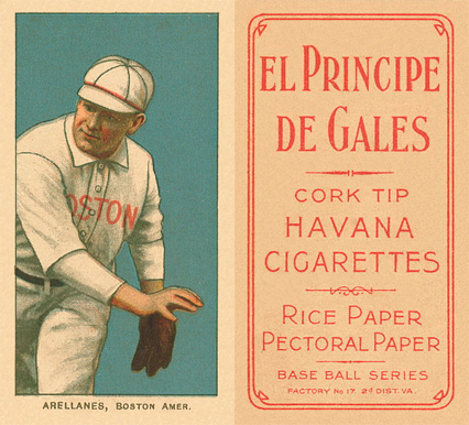 1909 White Borders (EPDG) Frank Arellanes #11 Baseball Card