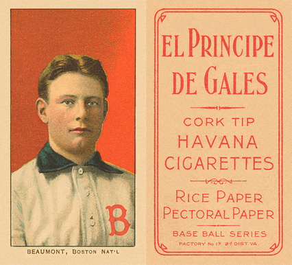1909 White Borders (EPDG) Ginger Beaumont #26 Baseball Card