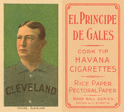 1909 White Borders (EPDG) Cy Young #523 Baseball Card