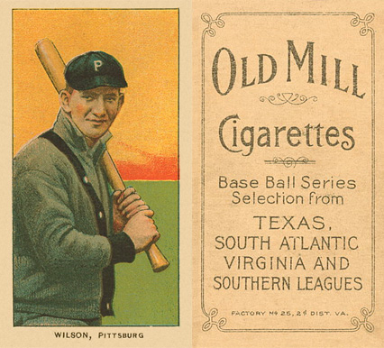 1909 White Borders (Old Mill) Owen Wilson #516 Baseball Card