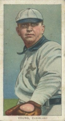 1909 White Borders (Polar Bear) Cy Young #521 Baseball Card